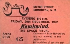 ticket concert hawkwind avec Lemmy