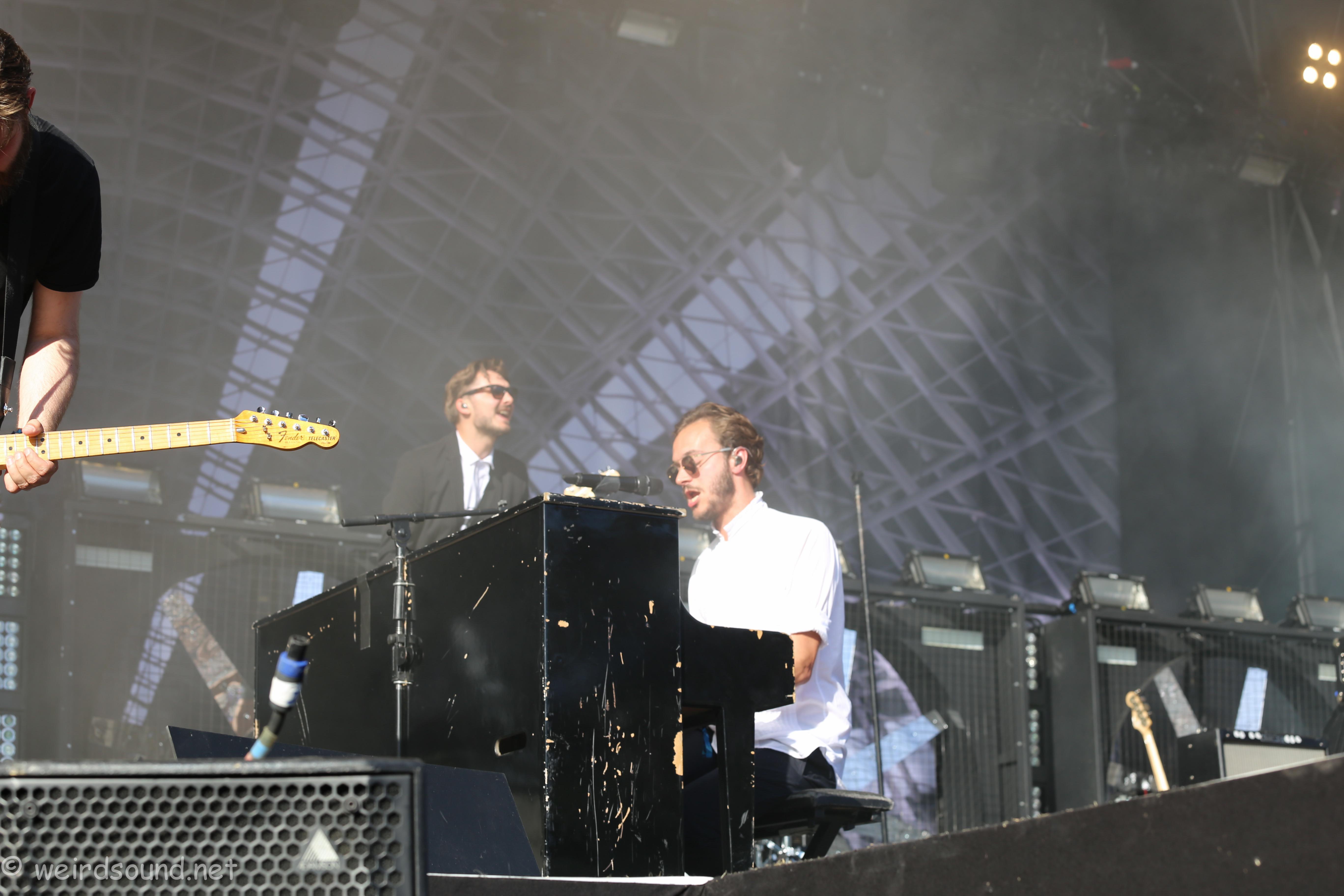 Un petit peu de piano pour charmer ces dames ! - Photo weirdsound
