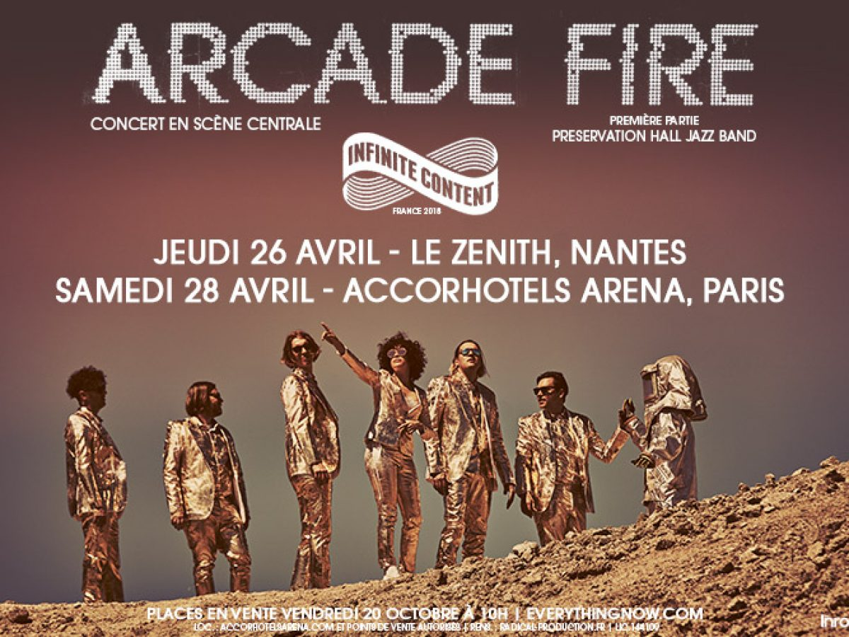 Arcade Fire On Tour