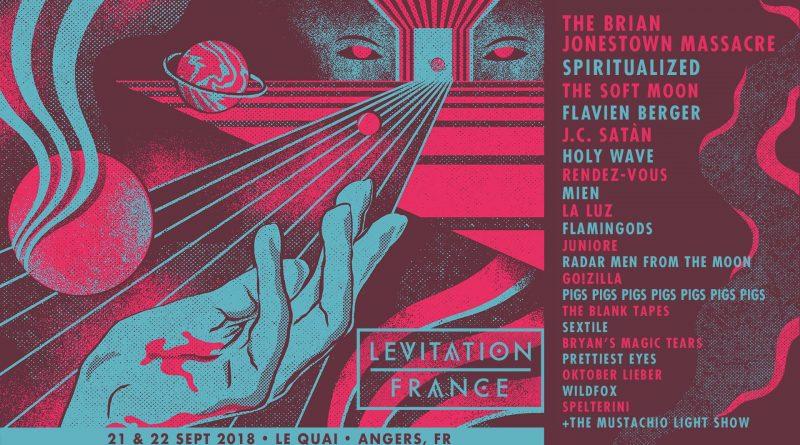 levitation 2018 affiche