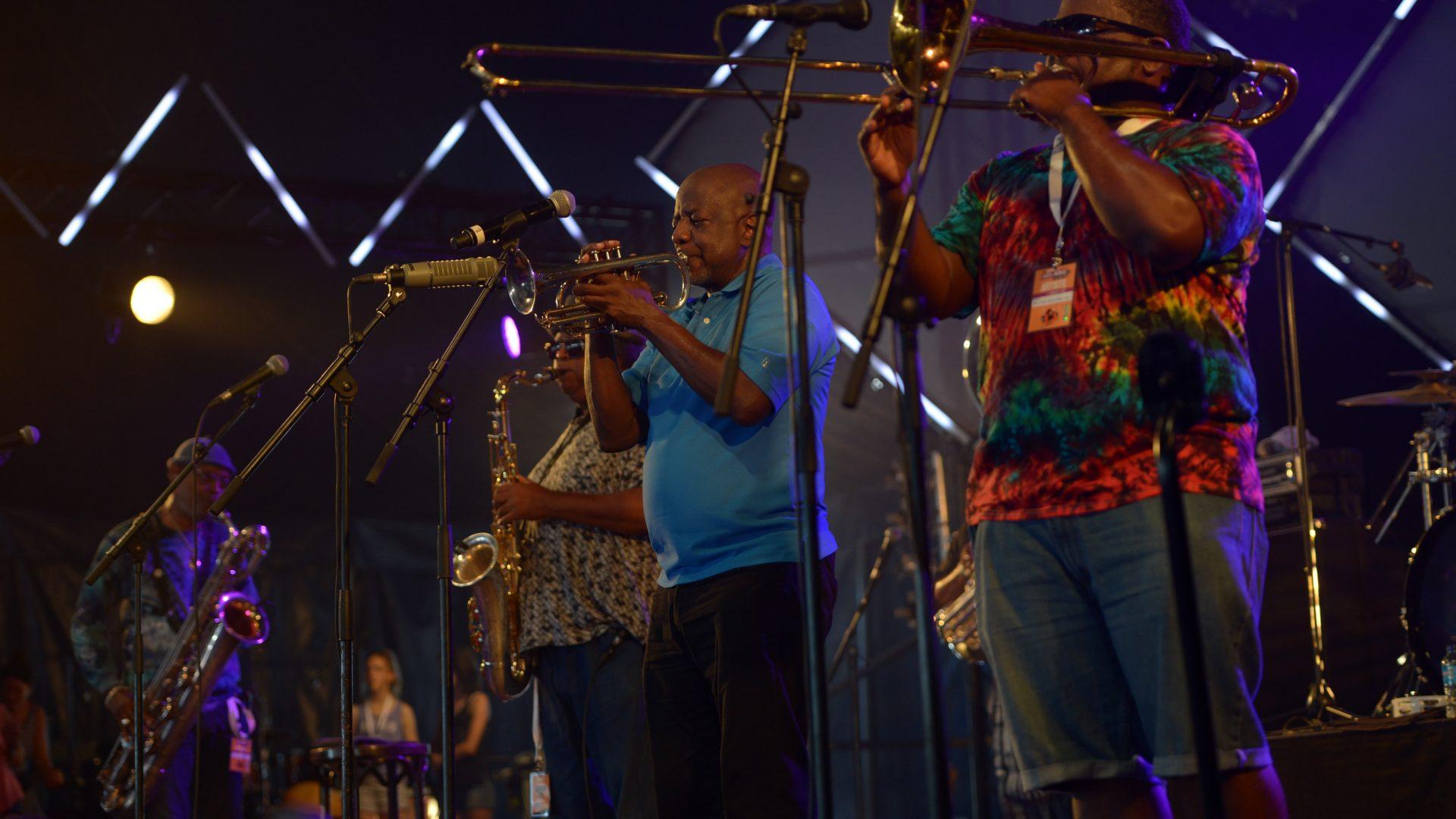 Dirty Dozen Brass Band - Festival du Bout du Monde - photo ehyobro