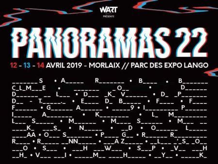 Panoramas festival : direction Morlaix en avril prochain!