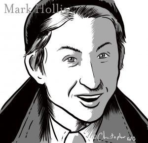 Mark Hollis vu par Christopher