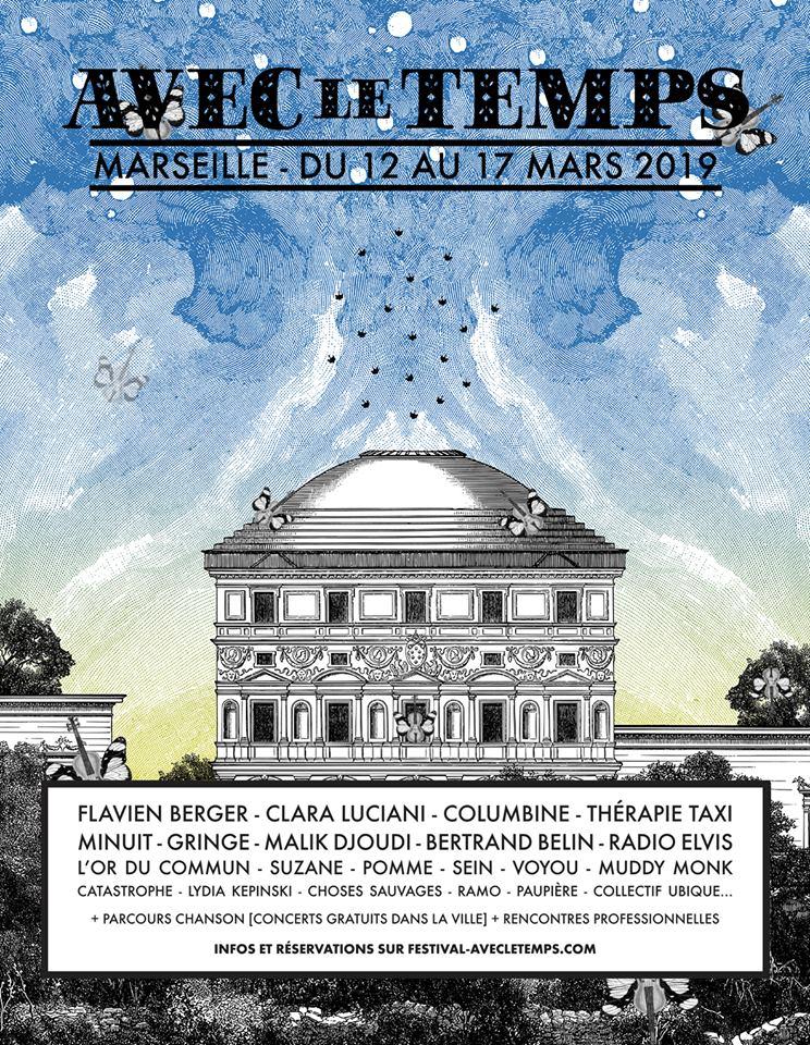 Affiche Festival Avec le Temps 2019