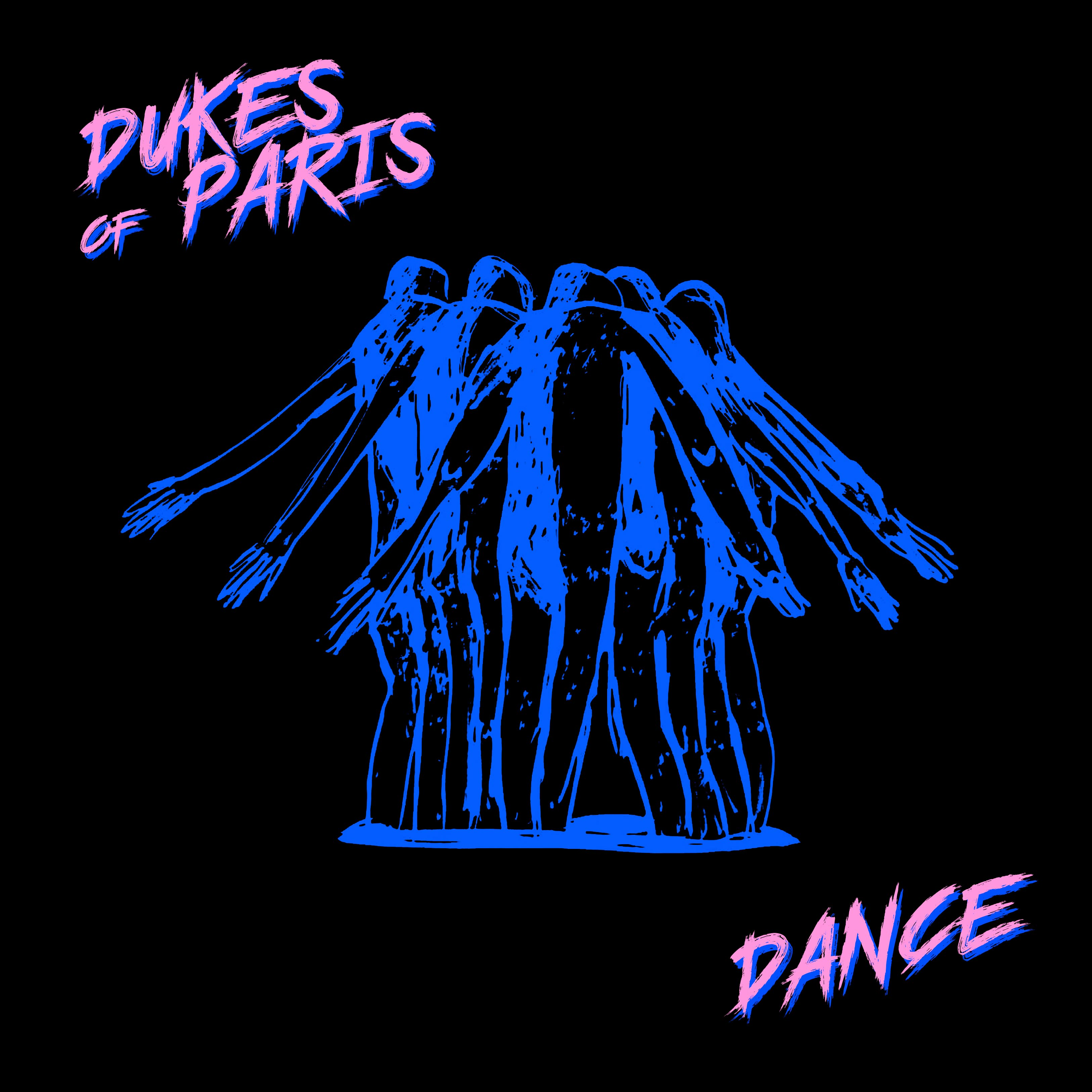 "Pochette EP ""Dance"" Dukes of Paris"