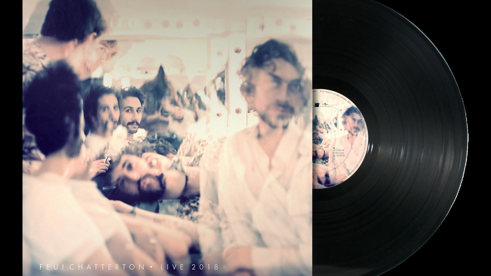 Pochette du vinyle Feu!Chatterton Live 2018