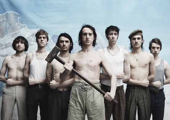 Fat White Family - credit photo Sarah Piantadosi