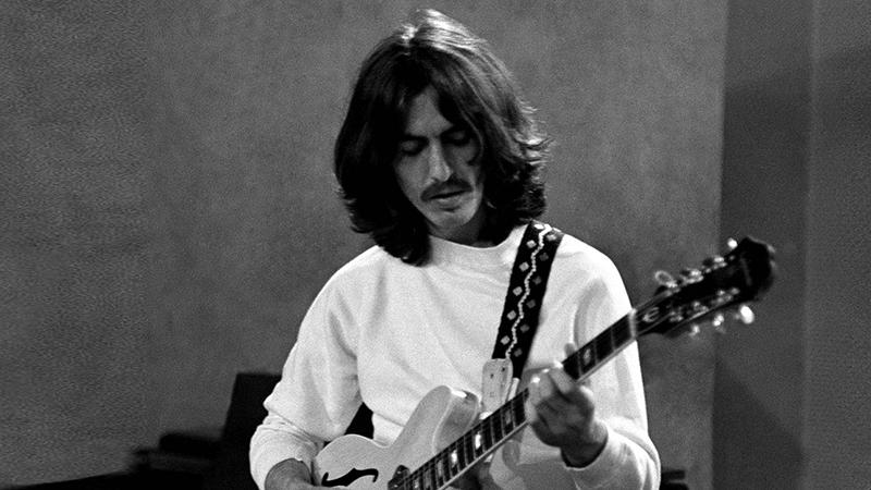 George Harrison en studio