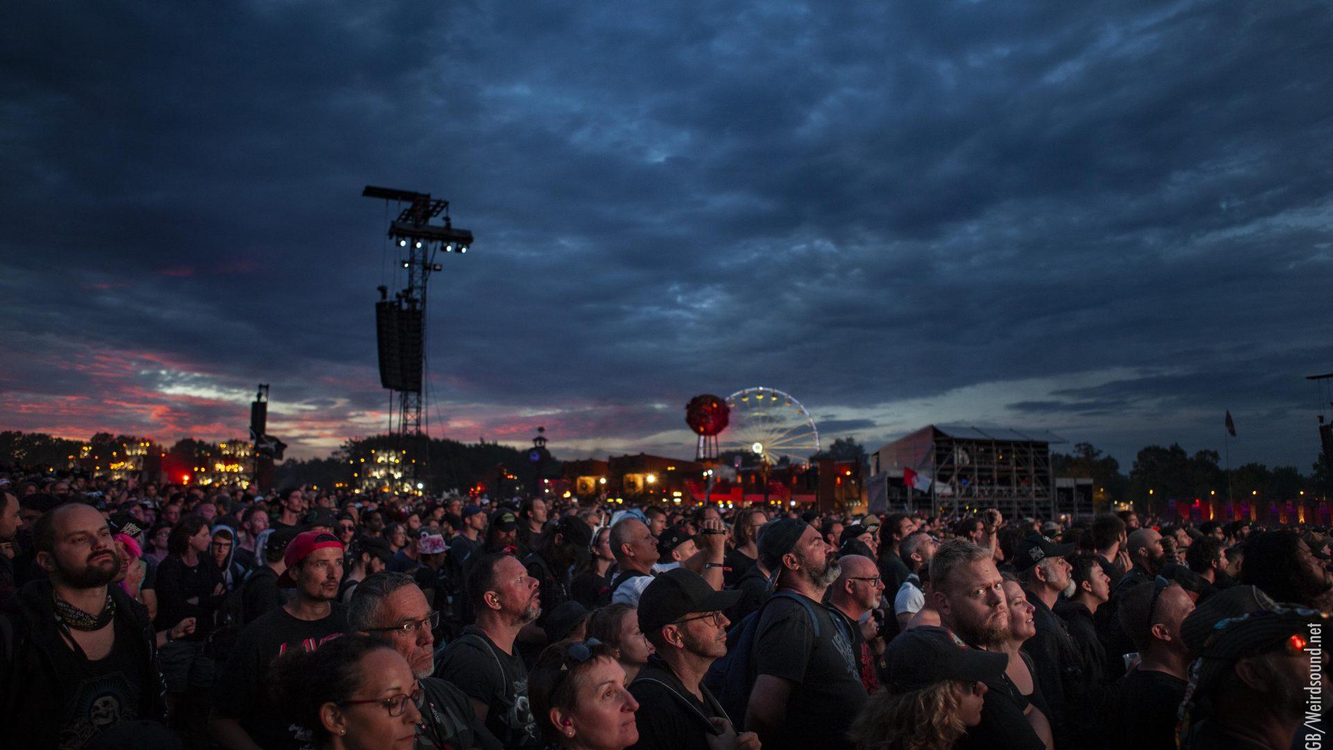 Slash sur la grande scène illumine le public du Hellfest 2019