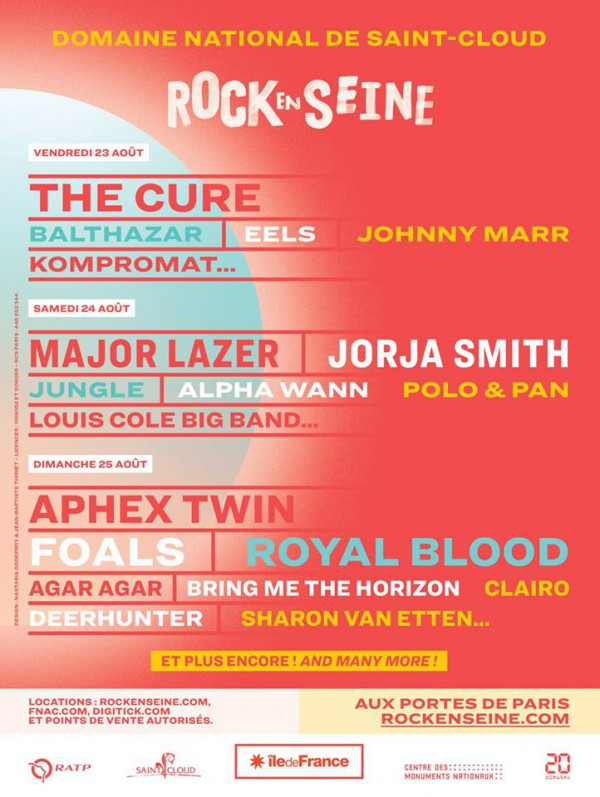 Rock en Seine Programmation