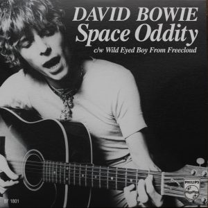 Bowie Space oddity single mono 1969
