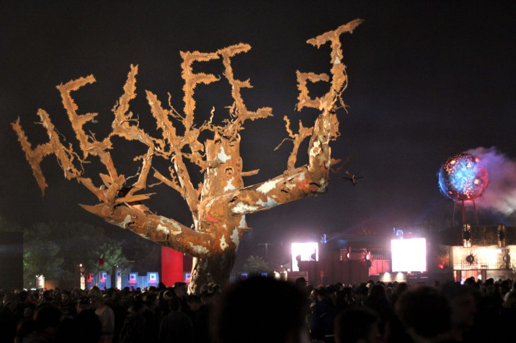 Hellfest juin 2019 Metal tree - weirdsound