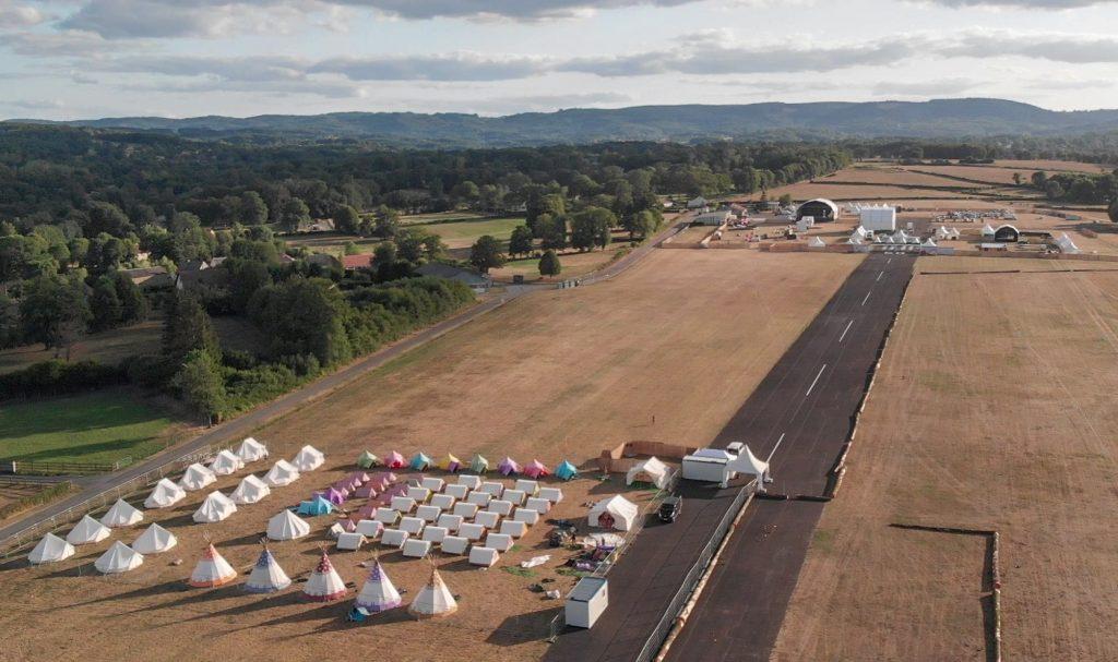 L'aérodrome de St Laurent Guéret est prêt pour le Festival 2019