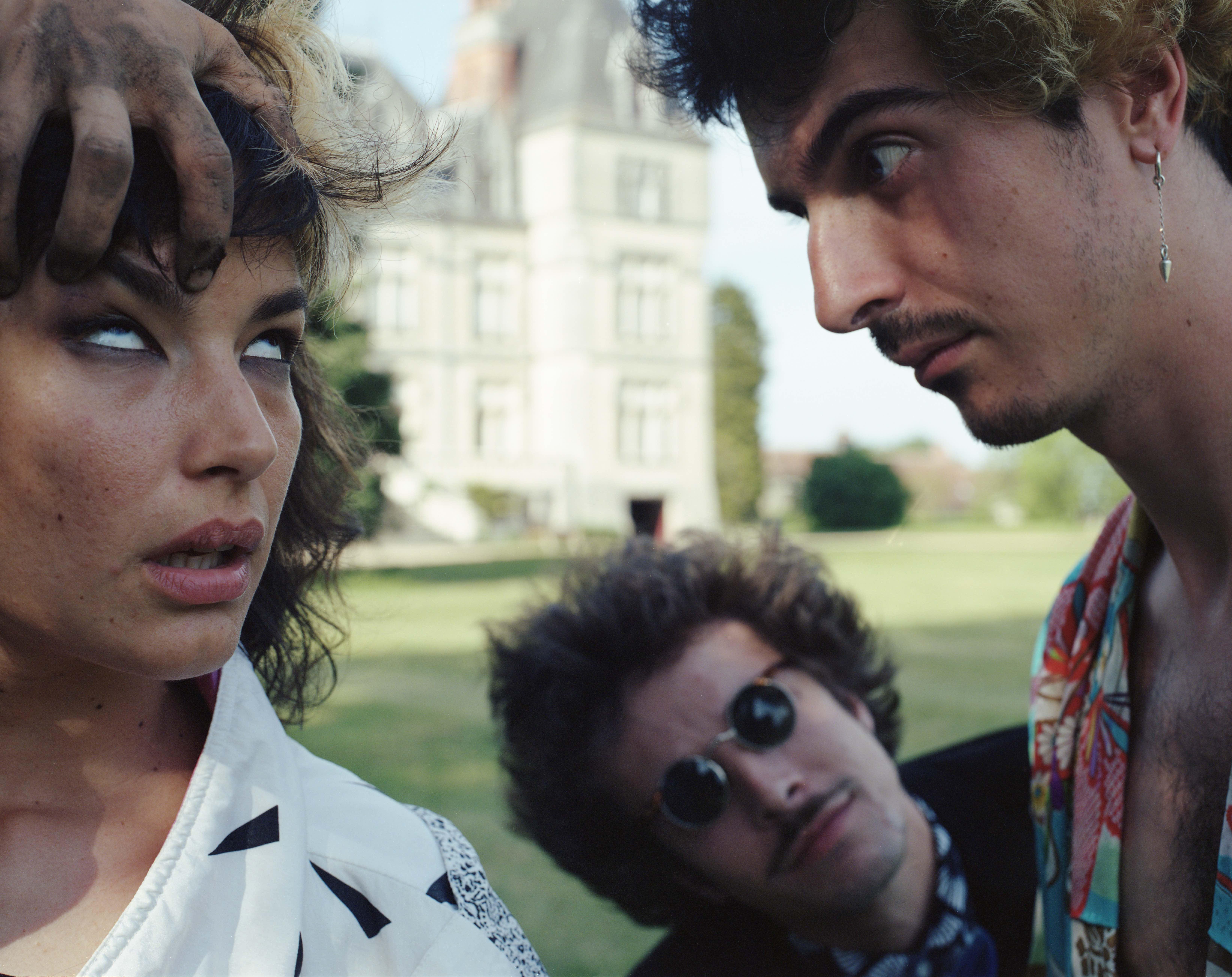 Le trio de zombies Thé Vanille par Renaud Morin