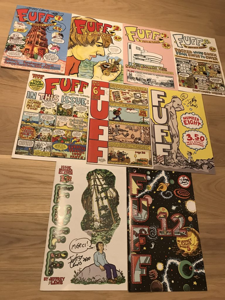 Jeffrey Lewis - Fuff Collection @JohnOCube