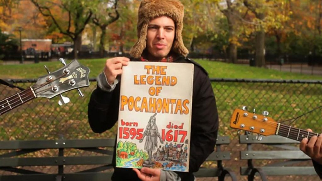 The legend of Pocahontas by Jeffrey Lewis