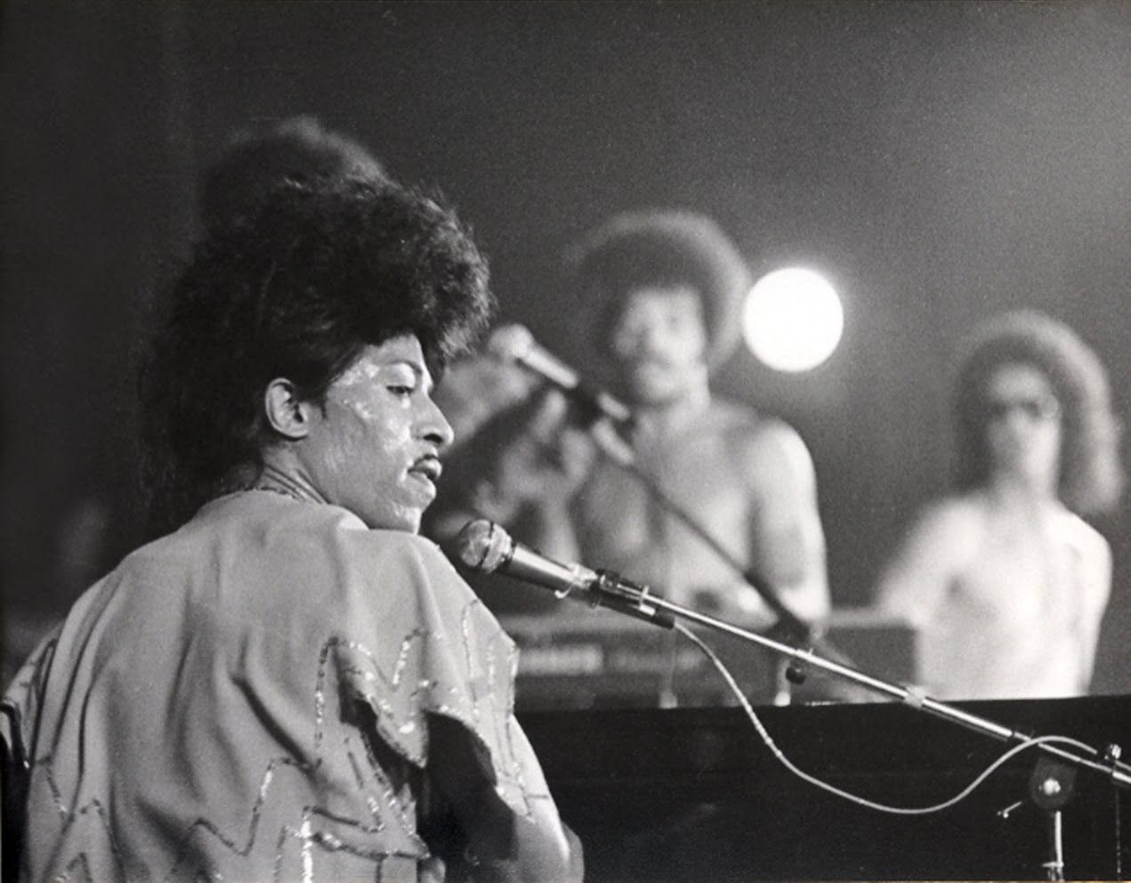 Little Richard à Lyon en 1975
