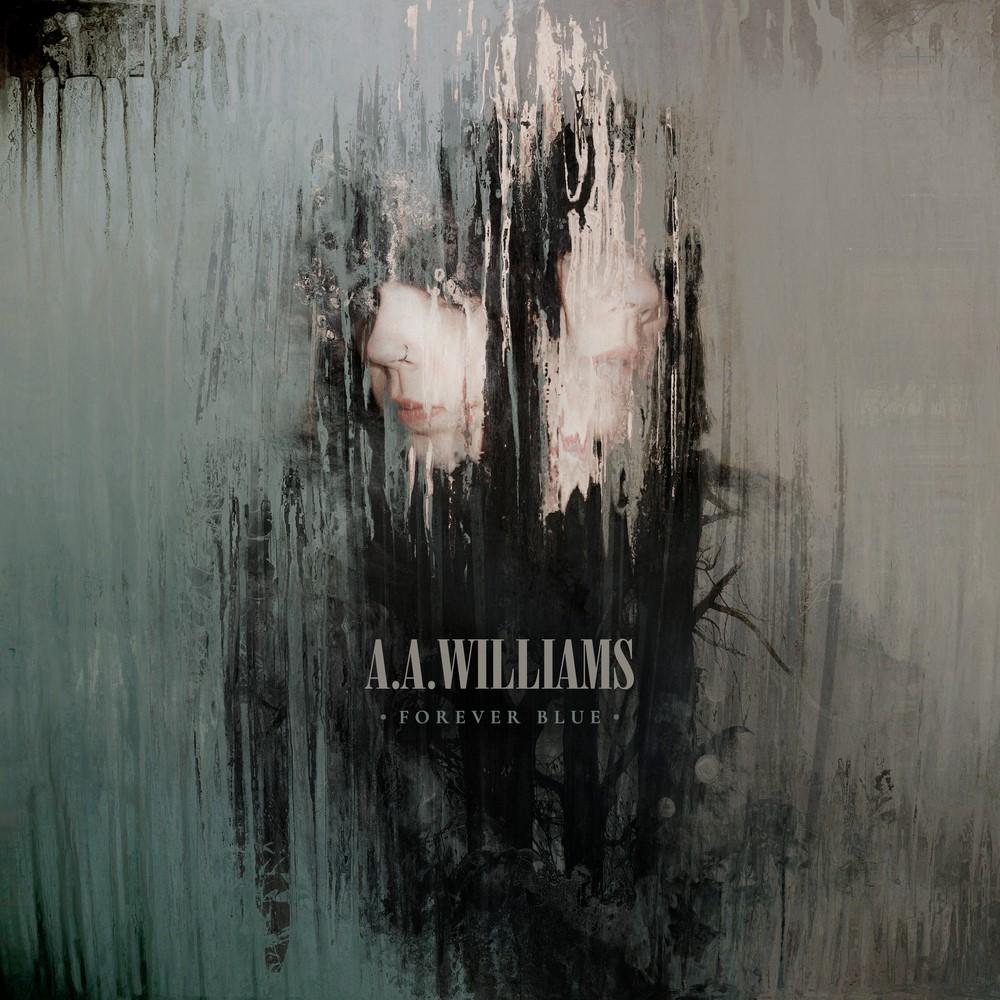 A.A Williams pochette de l'album Forever Blue