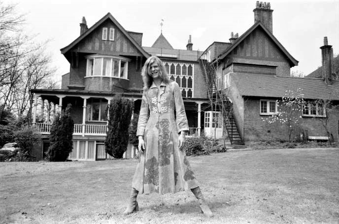Bowie à Haddon Hall en Avril 1971