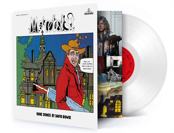 Pochette du vinyle Metrobolist de Bowie