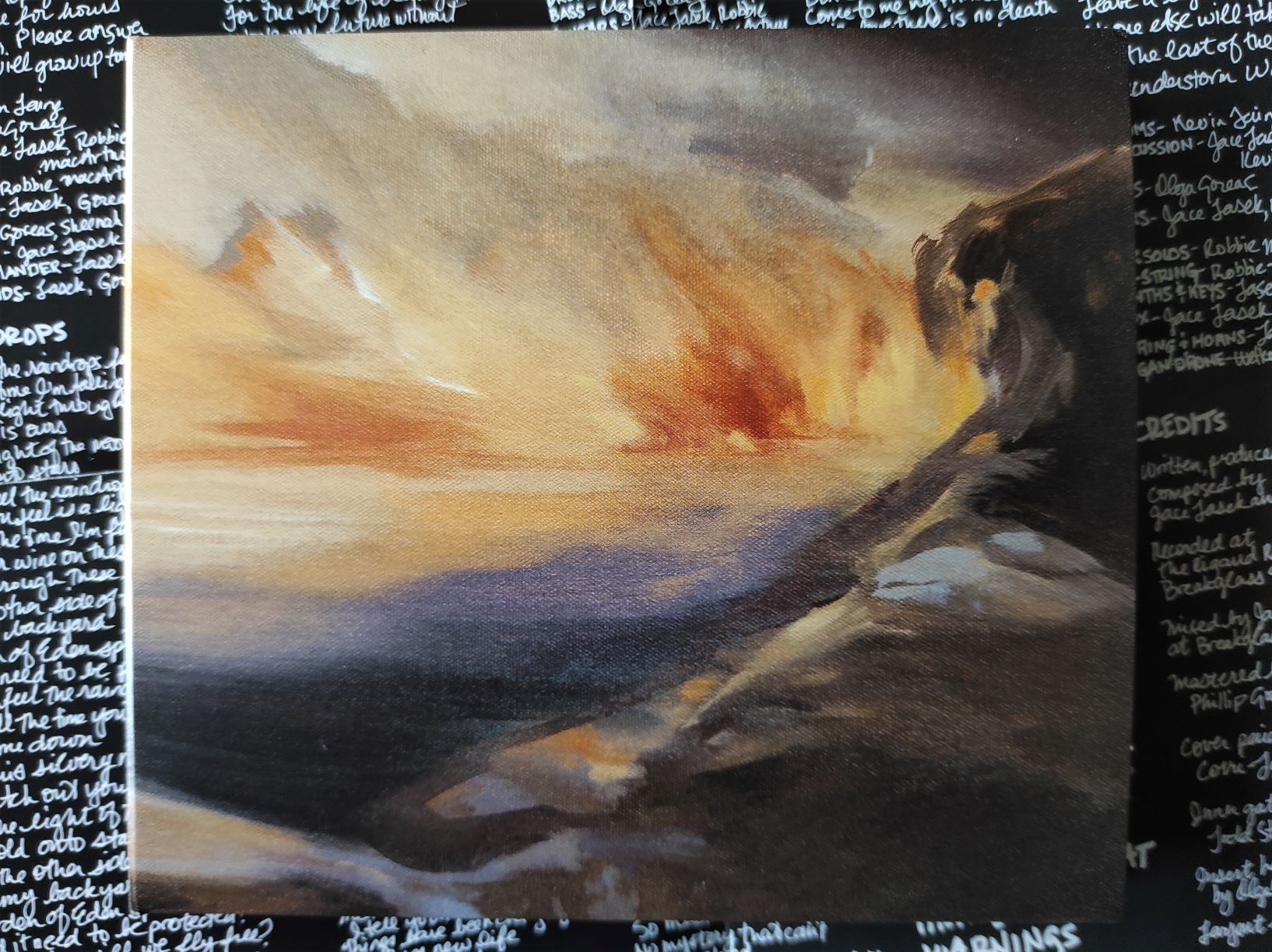Pochette du 6ème album de The Besnard Lakes janvier 2021