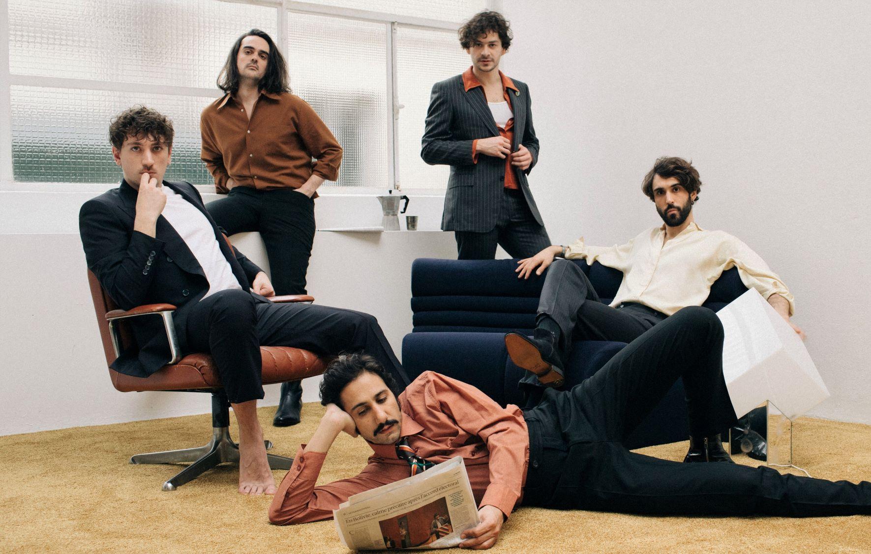 Feu Chatterton de gauche à droite A Wilson, C Doumic, A Teboul, S Wolf, R de Pressigny