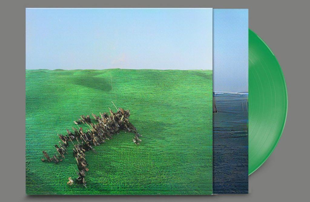 Squid album Bright Green Field édition couleur limitée