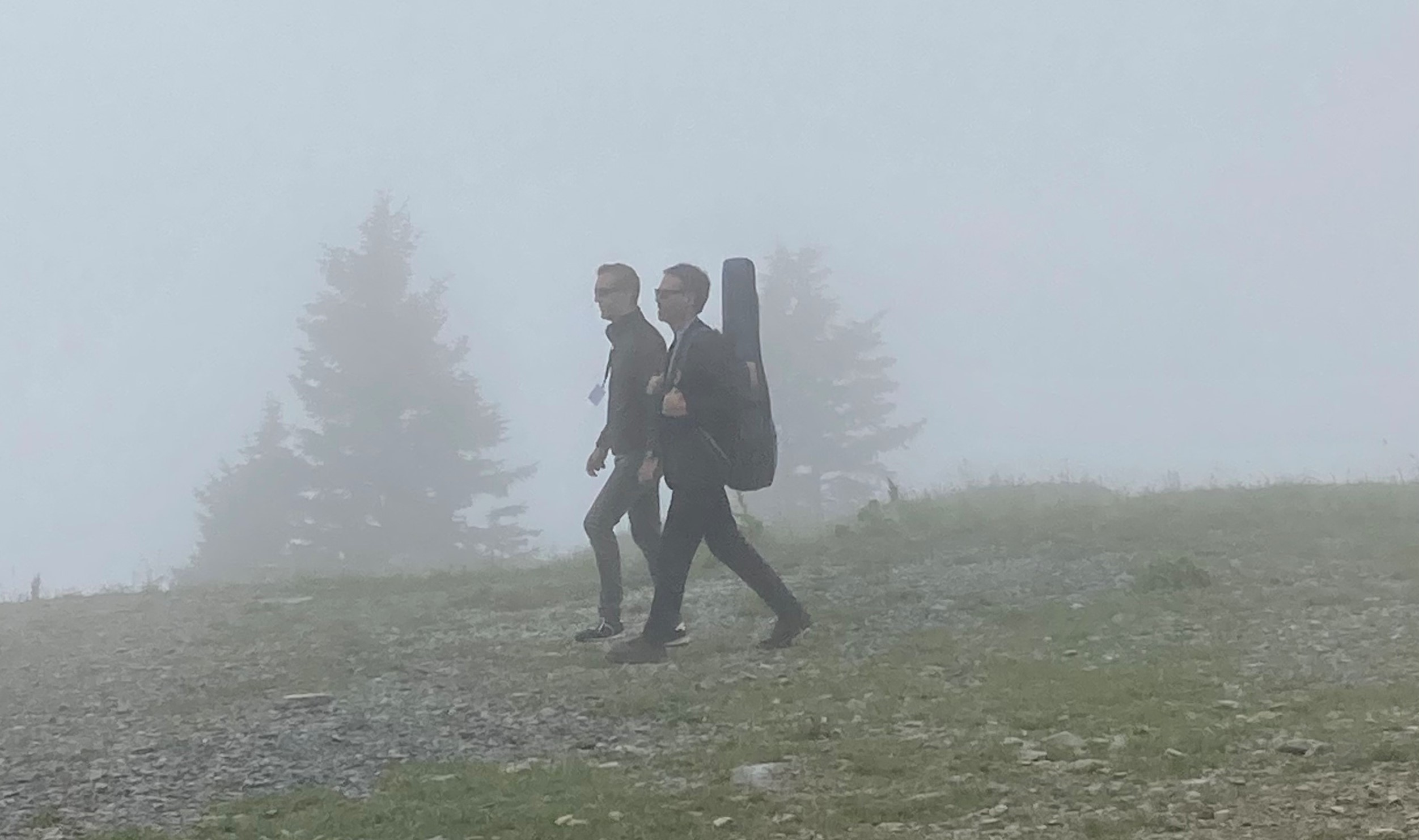Piers Faccini émerge de la brume photo lucky skywalker